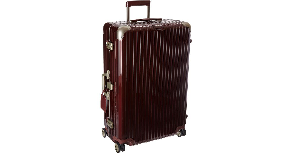 rimowa limbo 32 multiwheel in red for men carmona red lyst. Black Bedroom Furniture Sets. Home Design Ideas