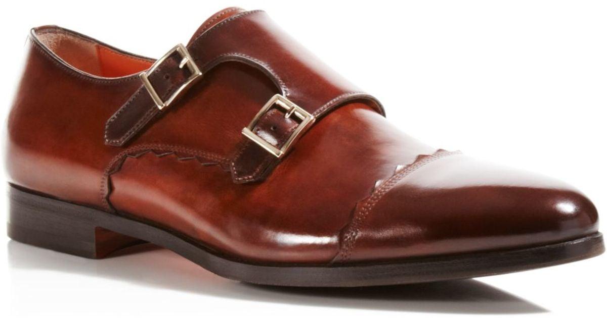 Santoni double-buckle shoes clearance store online good selling sale online MVg4uw8