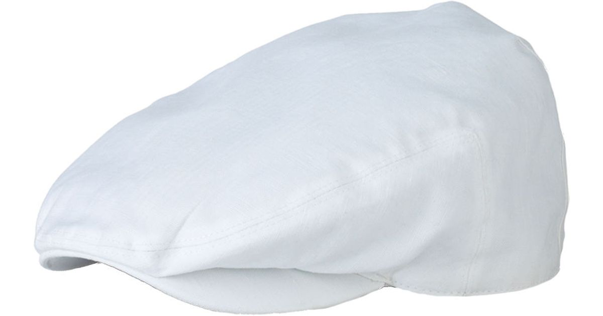 Lyst - Polo Ralph Lauren Canvas Ivy Cap in White for Men aa5d2b673bff