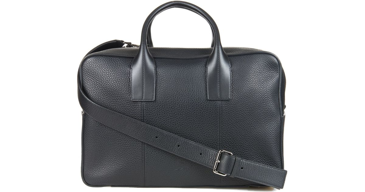 548ffac172d Christian Louboutin Black Fredo Leather Holdall for men