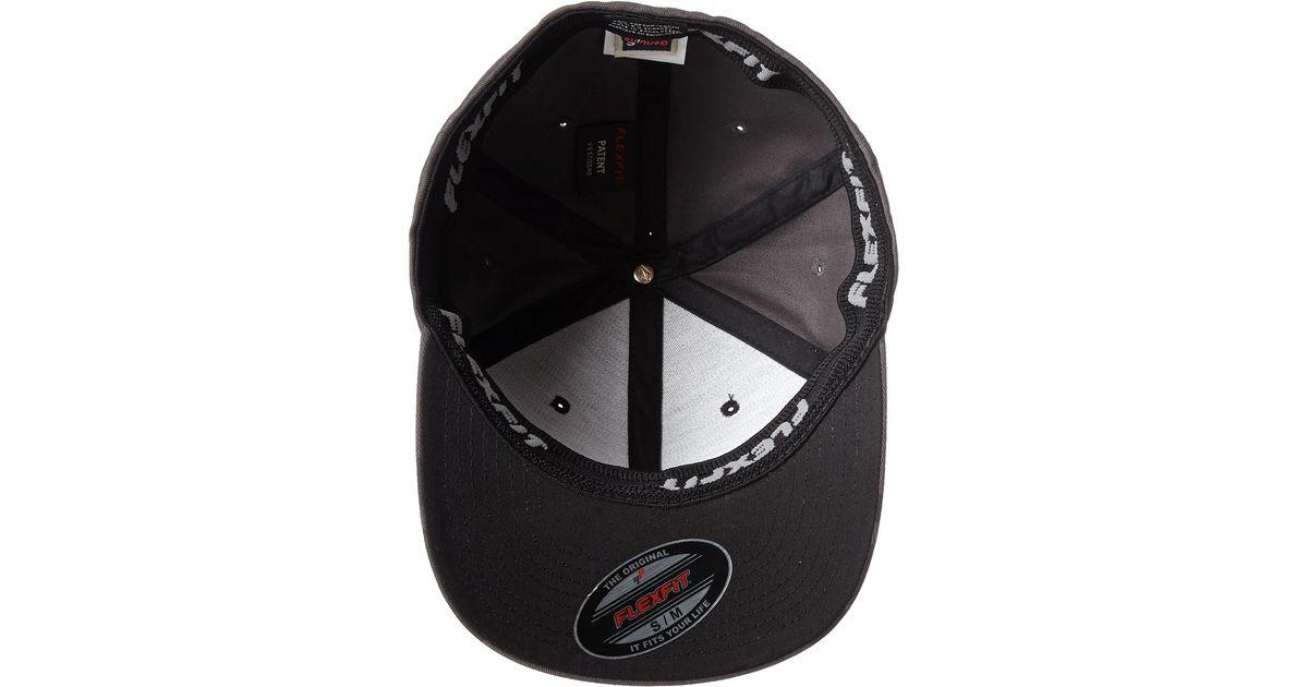 ae2e23d8150ba Lyst - Volcom Full Stone Frabric Xfit™ Flexfit® Hat in Black for Men