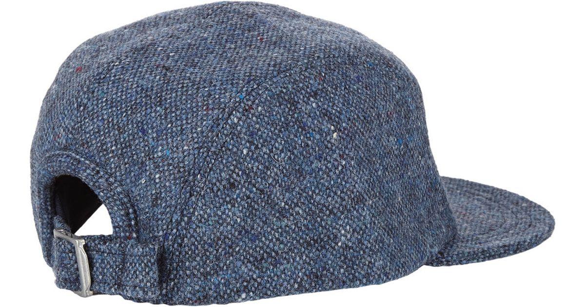 1b39ca37aaf Larose Paris Donegal-effect Baseball Cap in Blue for Men - Lyst