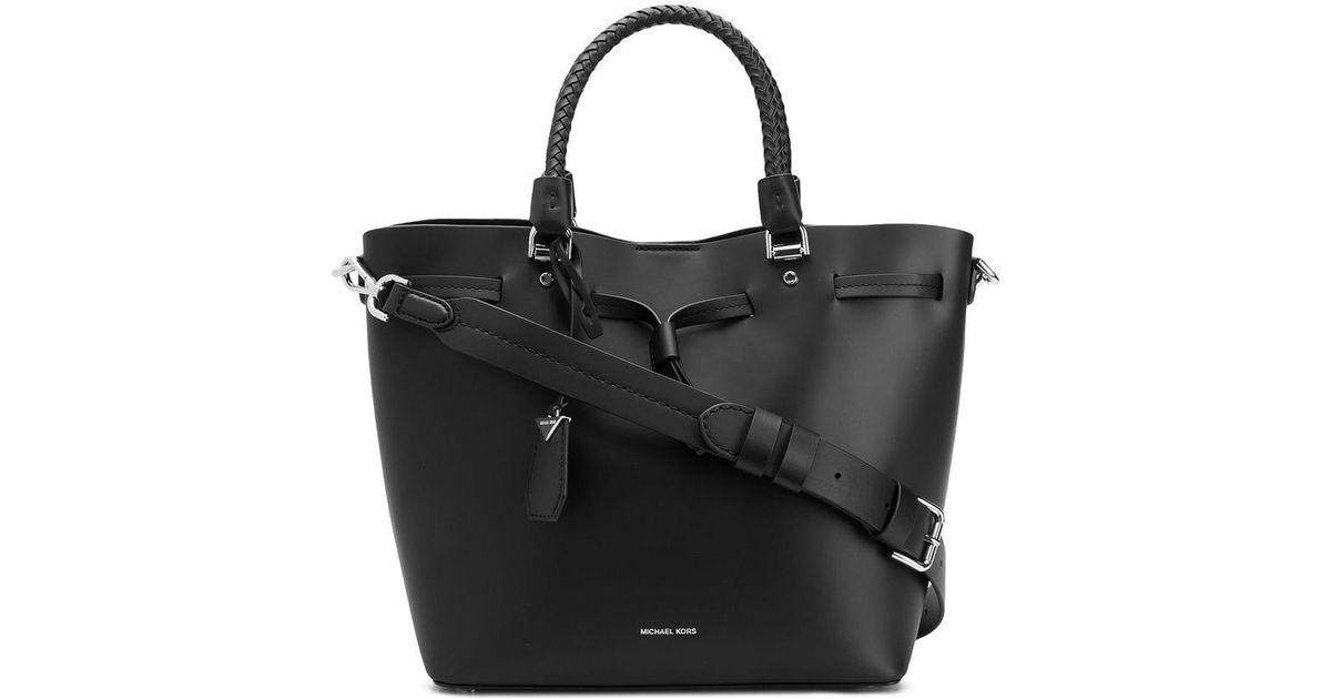 e1a7ef2eee9c Lyst - Michael Michael Kors Blakely Tote Bag in Black