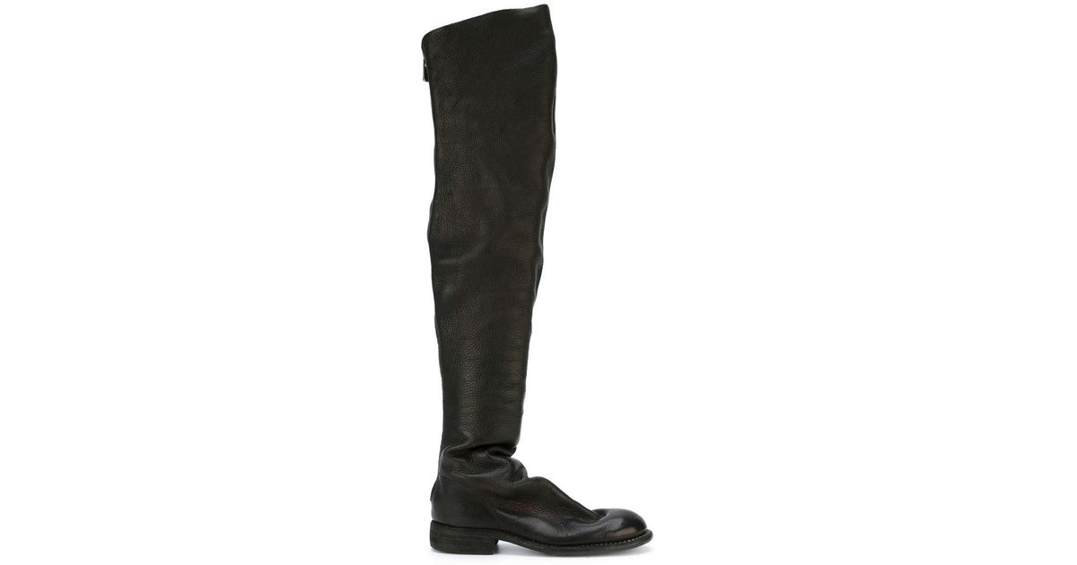 Strategia 30MM STRETCH LEATHER OVER-THE-KNEE BOOTS WbQrlZNV2A
