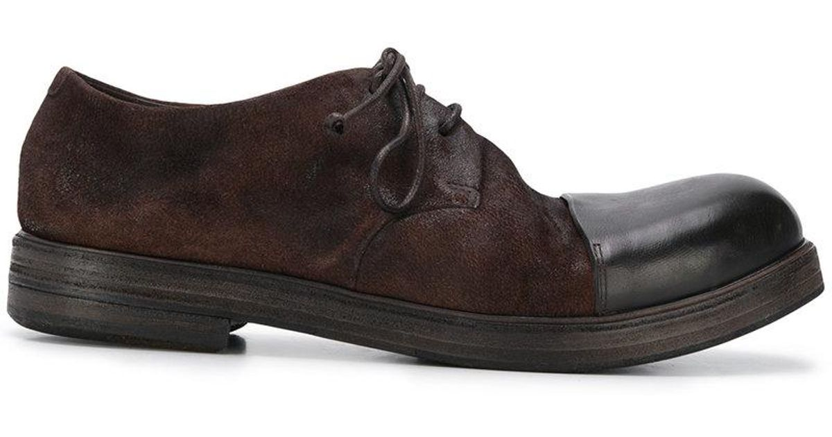Capronaro derby shoes - Brown Mars 1PTLE