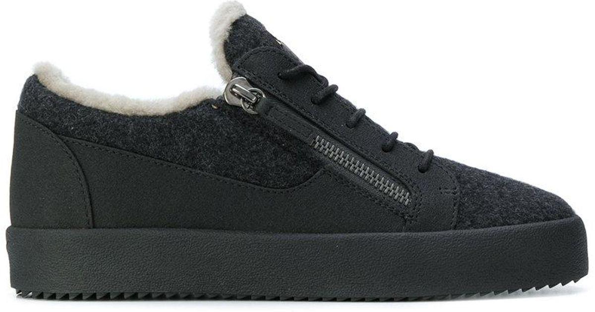 Frankie Winter Low Top Sneakers in Grey