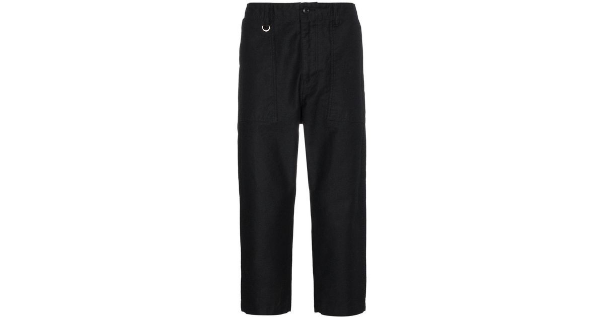 straight cropped trousers Sophnet. D2G6MyVp