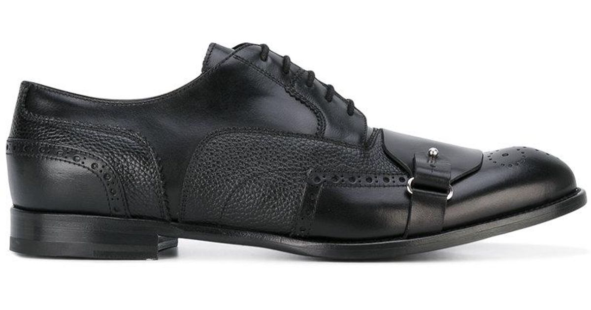choice cheap price outlet exclusive Alexander McQueen buckle brogues buy cheap low price free shipping hot sale inBJClC