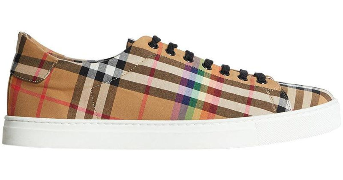 Burberry Cotton Rainbow Vintage Check