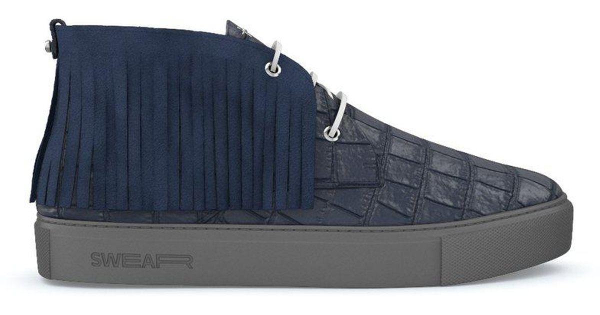 Maltby hi-top sneakers - Blue Swear yYBeMpQK6s