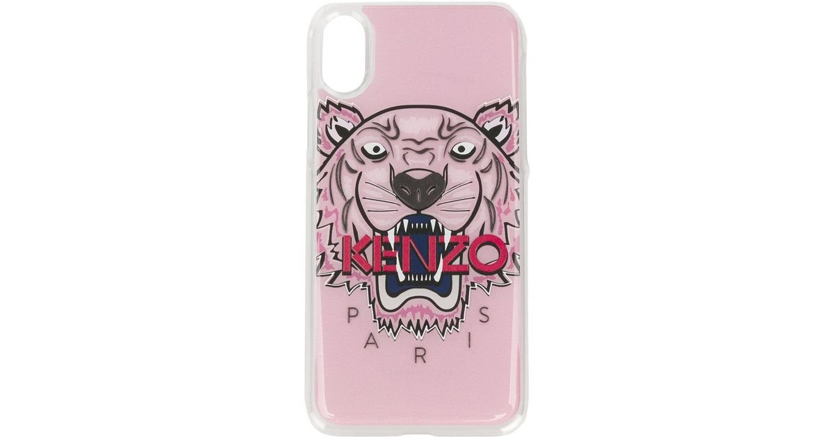 51449b6447 KENZO Multicolor Tiger Iphone X Phone Case