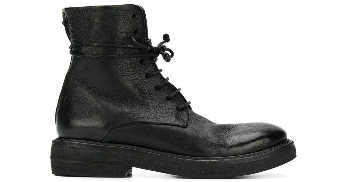 Marsèll lace-up fitted boots free shipping nicekicks IpdEU