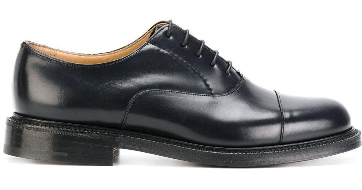 Blue Men Church's For Sheffield Shoes Derby 76gYvbyf