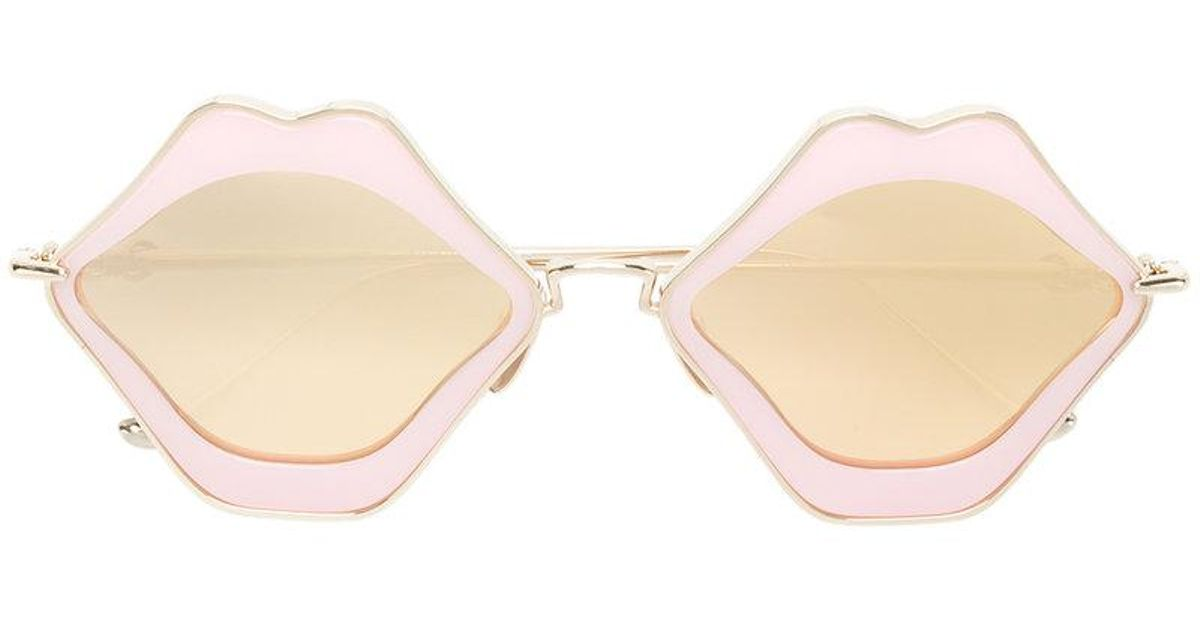 6860ccc5d87 Lyst - Chrome Hearts Oversized Sunglasses in Pink