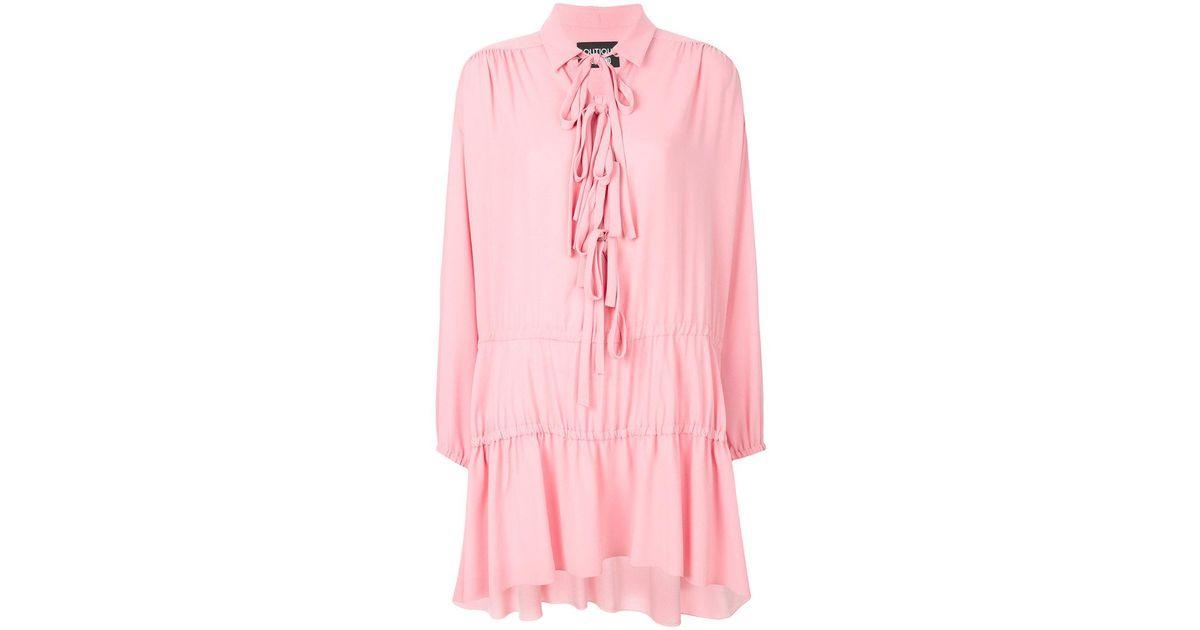 8540ad5a71 Boutique Moschino - Pink Vestito Con Fiocco - Lyst