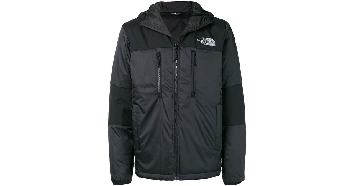 1fb43a23 The North Face Black Logo Print Padded Jacket for men