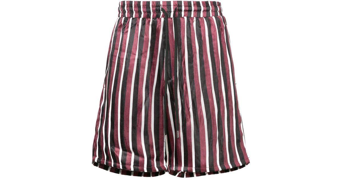 striped pyjama style shorts - Multicolour Stampd FD3xO1HmF
