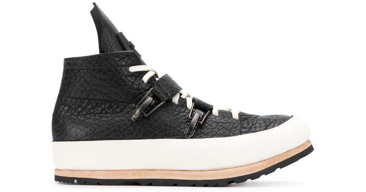Artselab Leather Platform Sneakers in