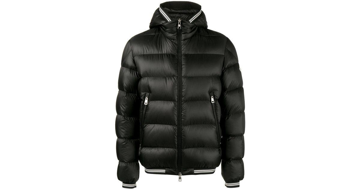 moncler jeanbart hooded puffer coat