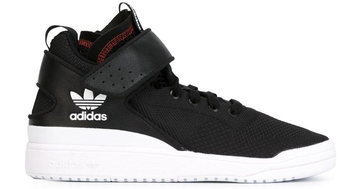 4ee3af99822b Lyst - adidas Originals  veritas  Hi-top Sneakers in Black for Men
