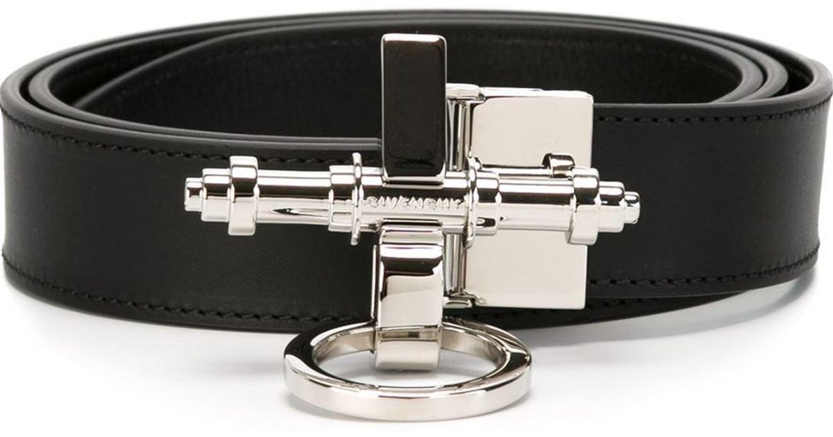 97aa857292f4a Givenchy 'obsedia' Belt in Black for Men - Lyst