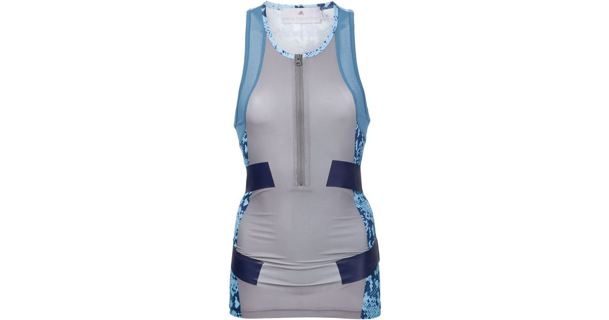 Lyst Adidas Adidas de Stella Stella Mccartney Run Techfit Tank Top azul Ai8456 en azul 840e362 - accademiadellescienzedellumbria.xyz