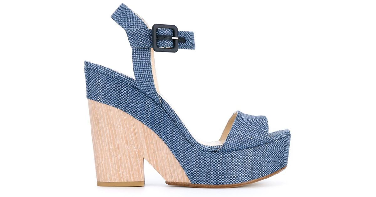 500ee9e7d72 Lyst - Jimmy Choo  nico  Sandals in Natural