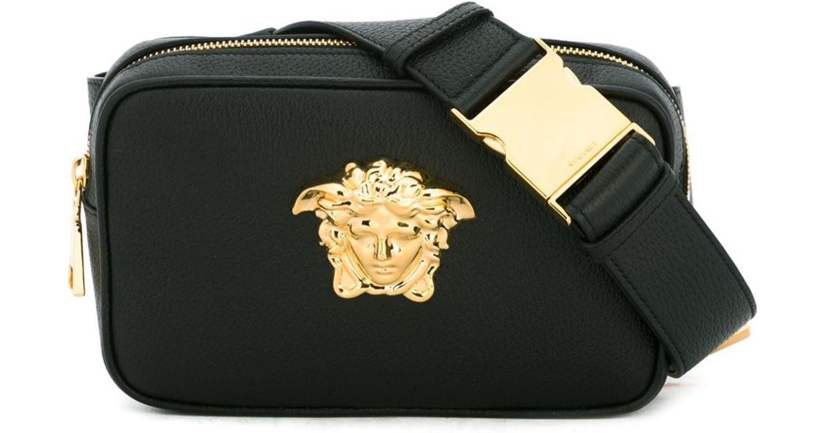 Versace - Black Medusa Bum Bag for Men - Lyst 70ed83bc28394