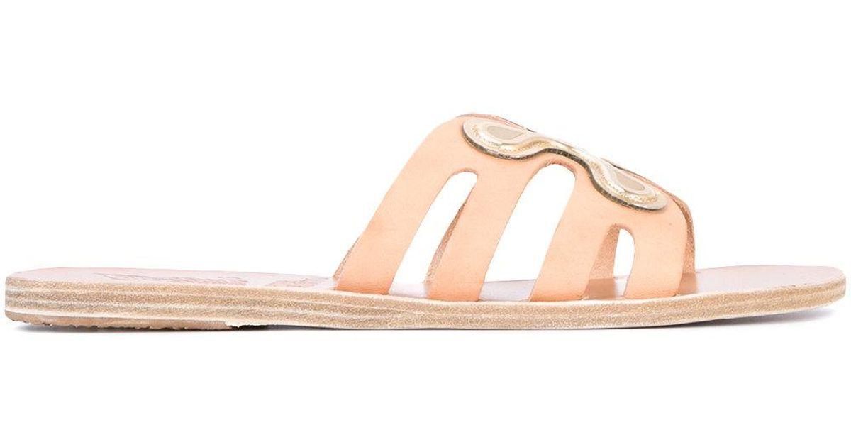 156188e9c71821 Lyst - Ancient Greek Sandals X Peter Pilotto Silicone Flower Sandals