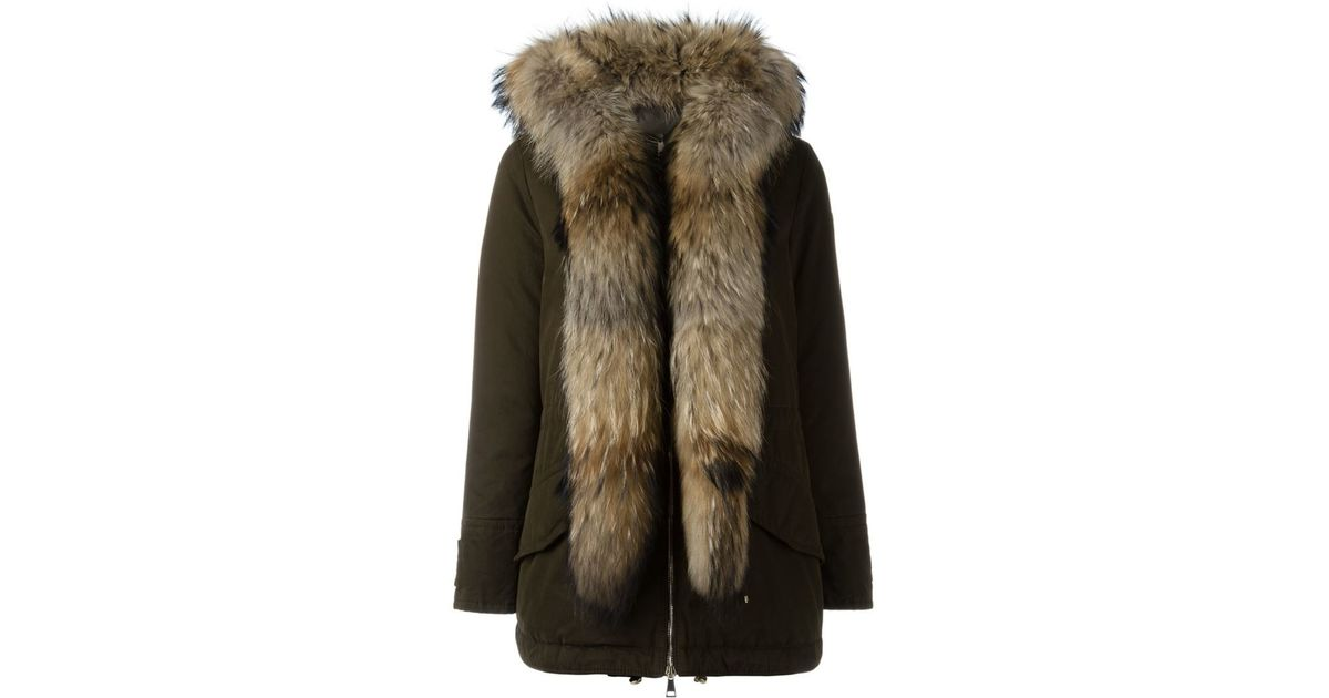2398719d1 Moncler  glaphyra  Parka Coat in Green - Lyst
