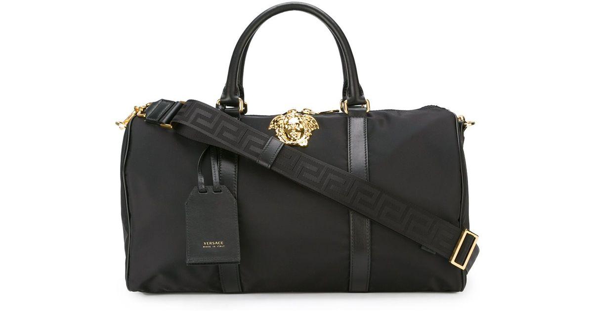 6c9445c240ca Lyst - Versace  palazzo Medusa  Duffle Bag in Black for Men