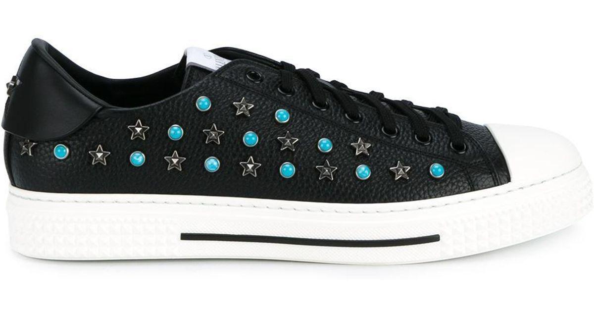 992b518b499 Valentino Garavani 'star Studded' Sneakers in Black for Men - Lyst