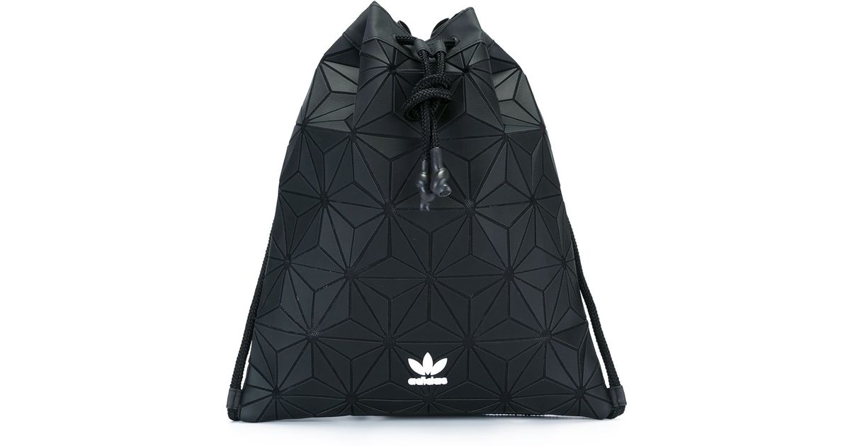 798cd365a1c1 adidas Originals Bucket Gym Sack in Black - Lyst