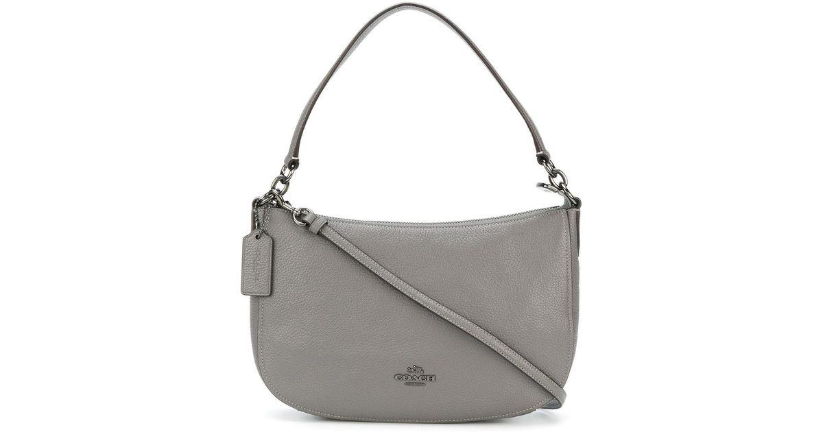 8a71cdd0c COACH Chelsea Crossbody Bag in Gray - Lyst