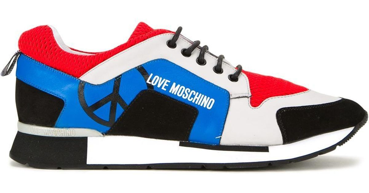 Love Moschino Leather Lateral Logo