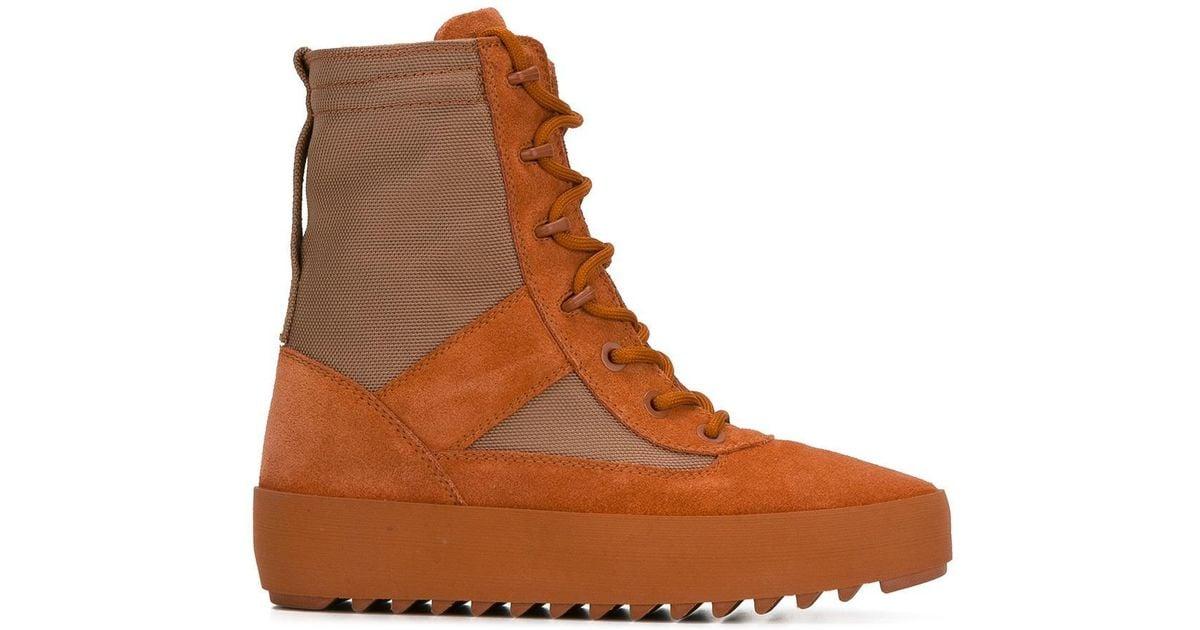 fcdf69c4dc695 Lyst - Yeezy Season 3 Military Boots