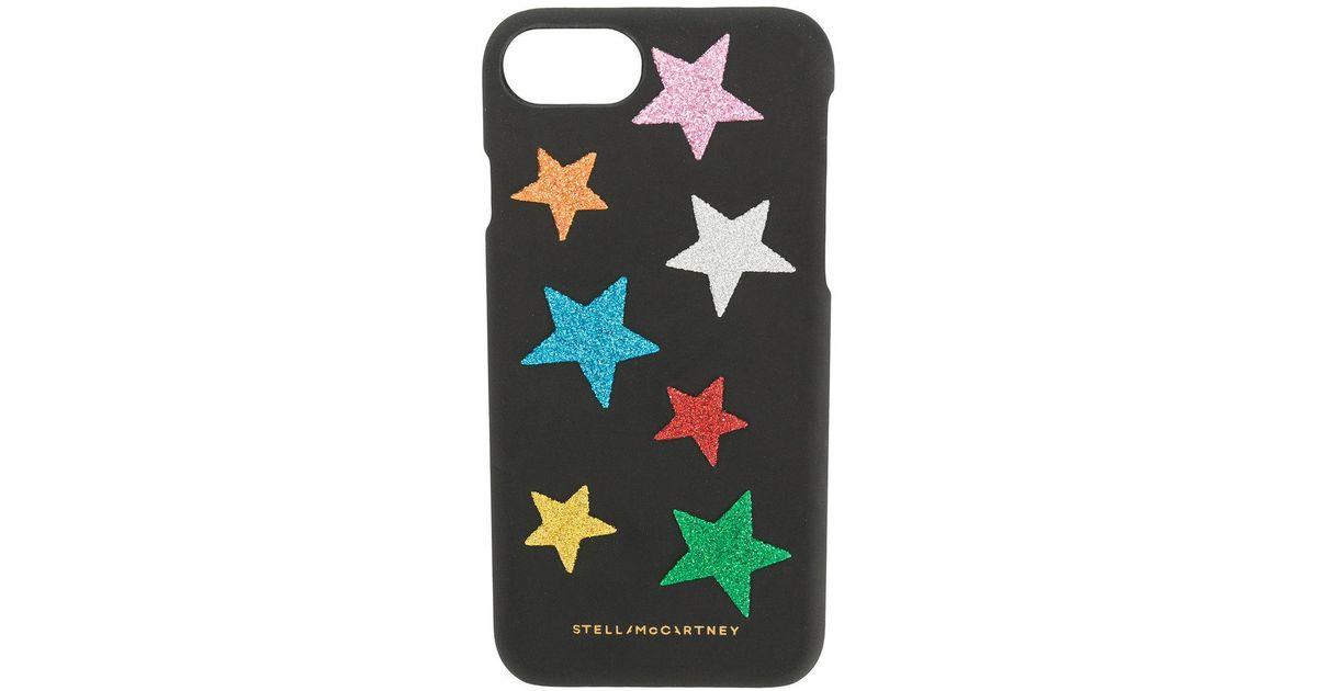 super popular 871a6 8e550 Stella McCartney Black Rainbow Star Iphone 7 Case for men