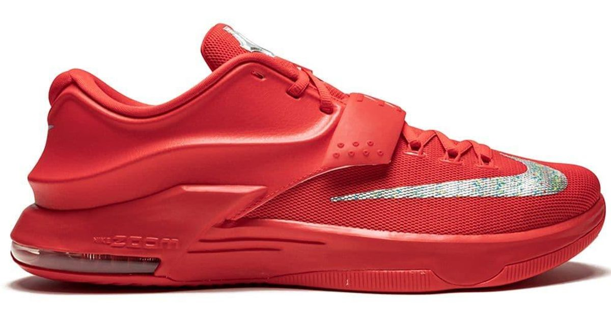online store f6394 0f0ab Nike Red Kd 7 Sneakers for men