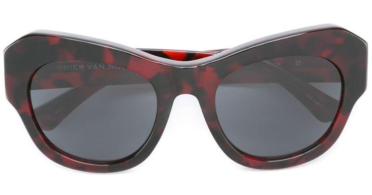 Linda Noten Eyewear Gafas Gallery sol Dries Red Van Farrow de FZwOZ4