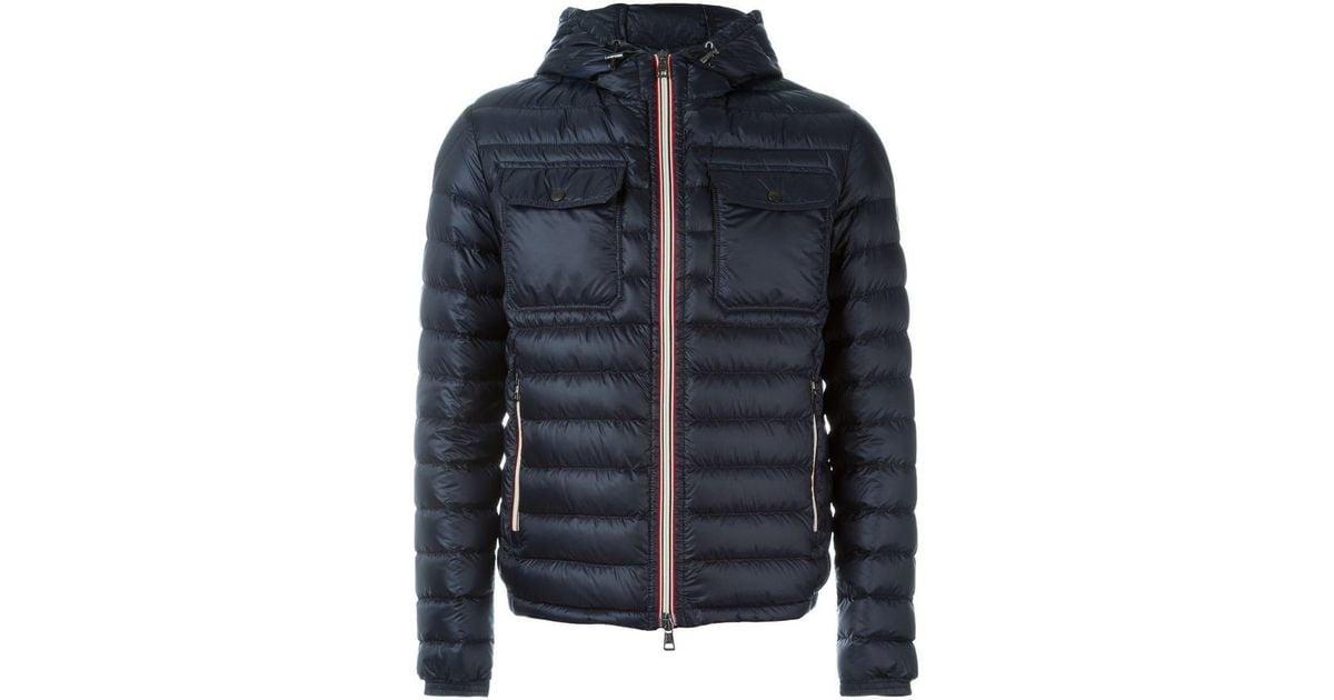 db2f8b60f Moncler Blue 'douret' Padded Jacket for men