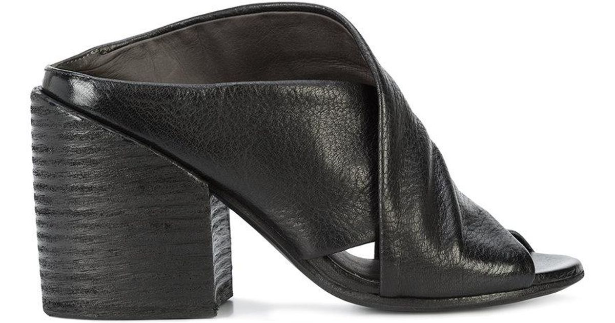 Crossover Marsèll Mules Black Lyst In OuTiwXZPk