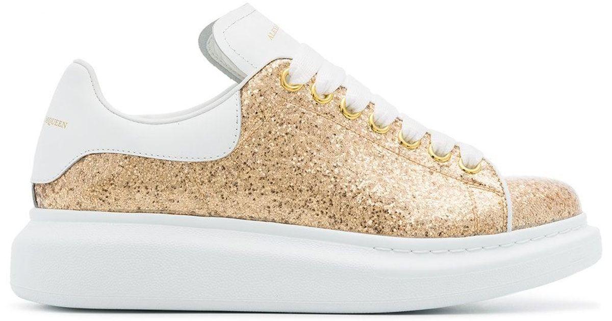 Alexander McQueen Gold Oversized