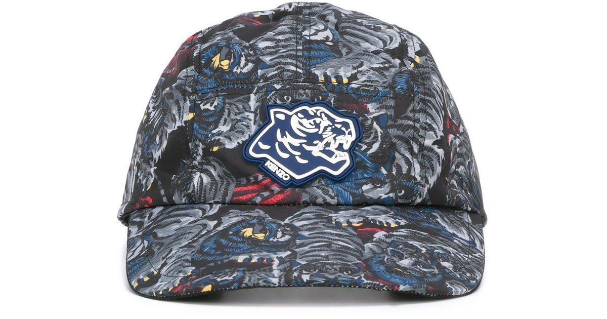 7ff850f9 KENZO 'flying Tiger' Cap in Blue for Men - Lyst