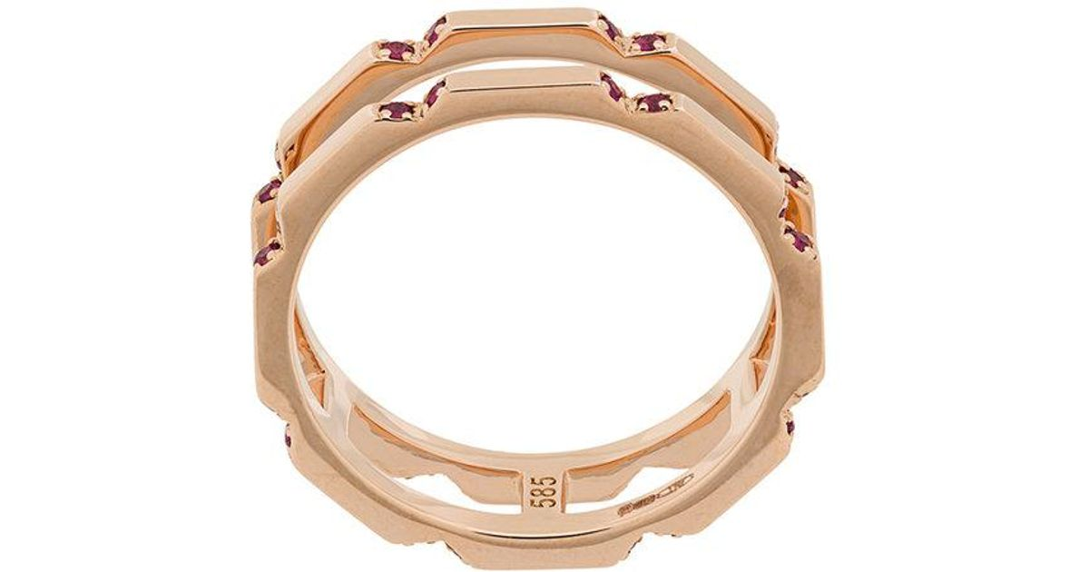Astley Clarke Aubar ring - Metallic