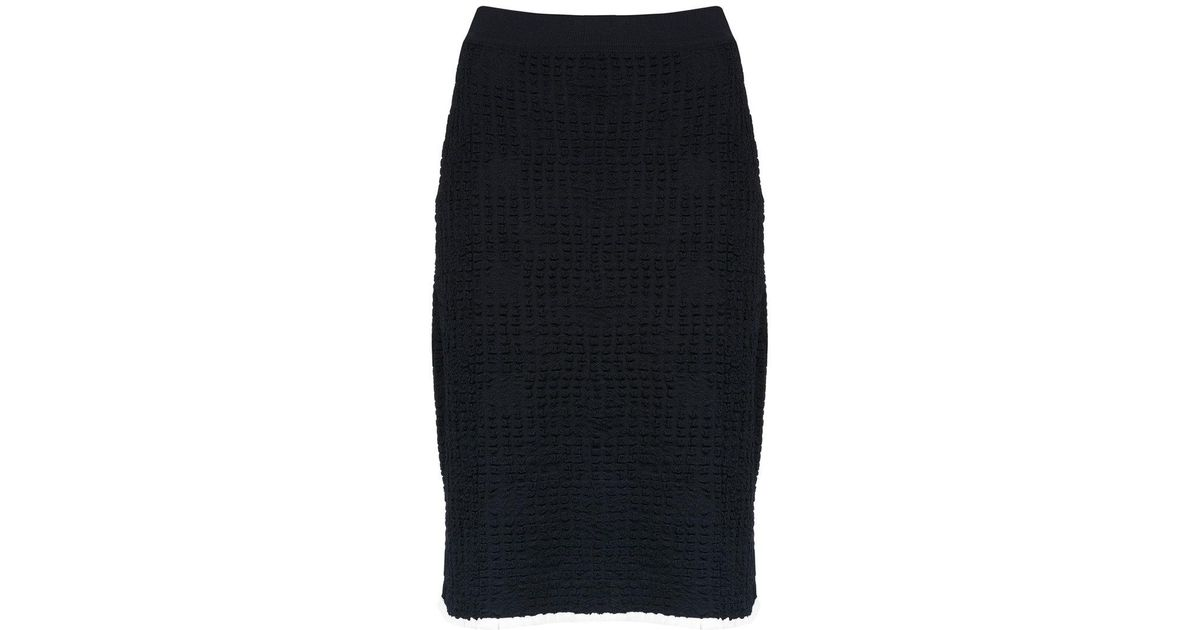 textured knit skirt - Blue Egrey Cheap Sale Eastbay Cheap Price Free Shipping Cheap 2018 bfFh7