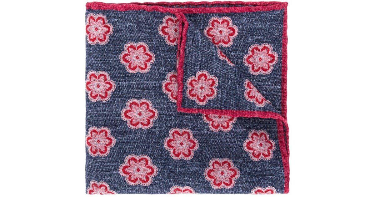 floral Pañuelo Eleventy estampado con de 6qR0Ax