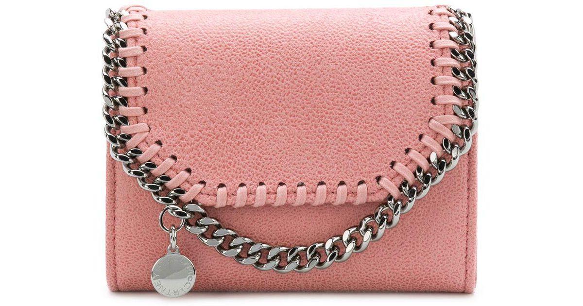 Stella Mccartney Chain Embellished Purse in Pink - Lyst 9164de25ca