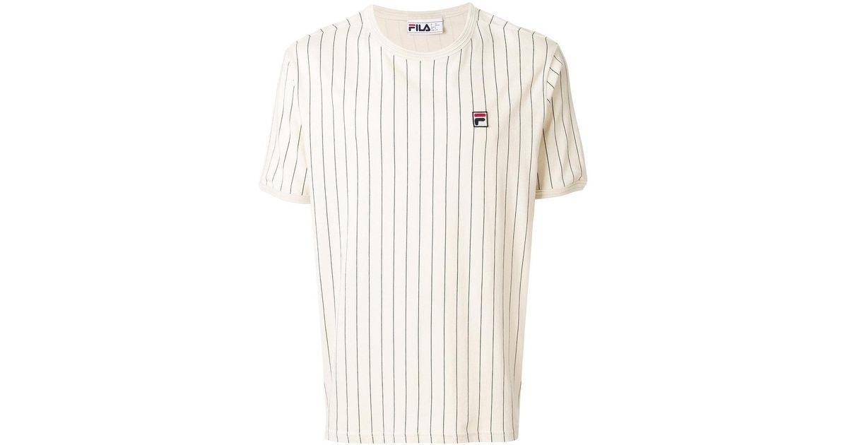 Fila Natural Striped T-shirt for men