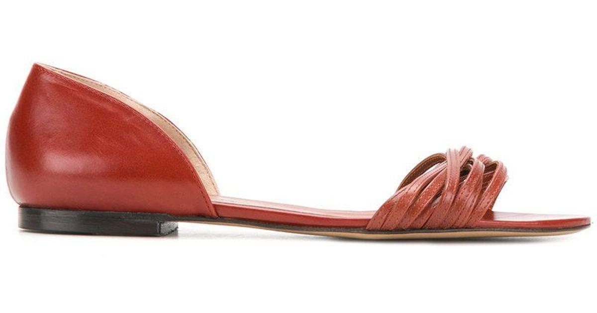 Michel Vivien strappy flat sandals new cheap online sale official sale pay with visa D3e0GZCE4a