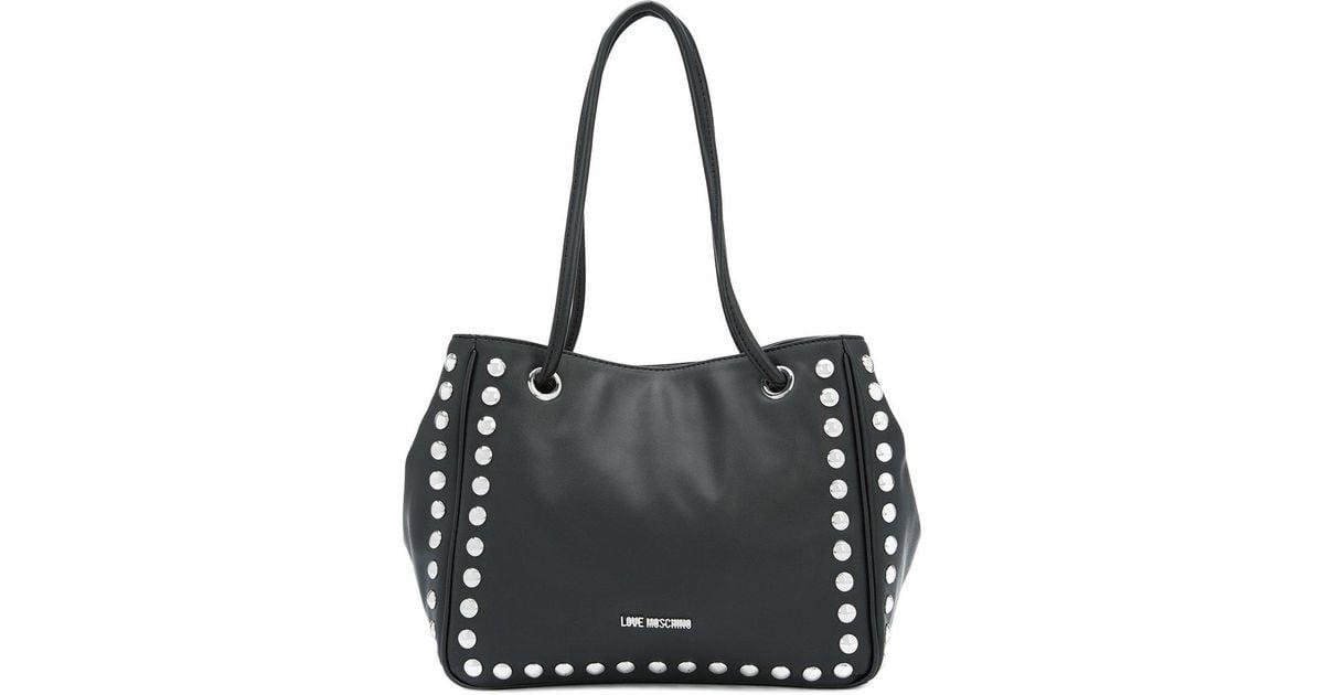 Free Shipping Big Sale Moschino studded tote bag Footlocker Online Yq7lJSD9i